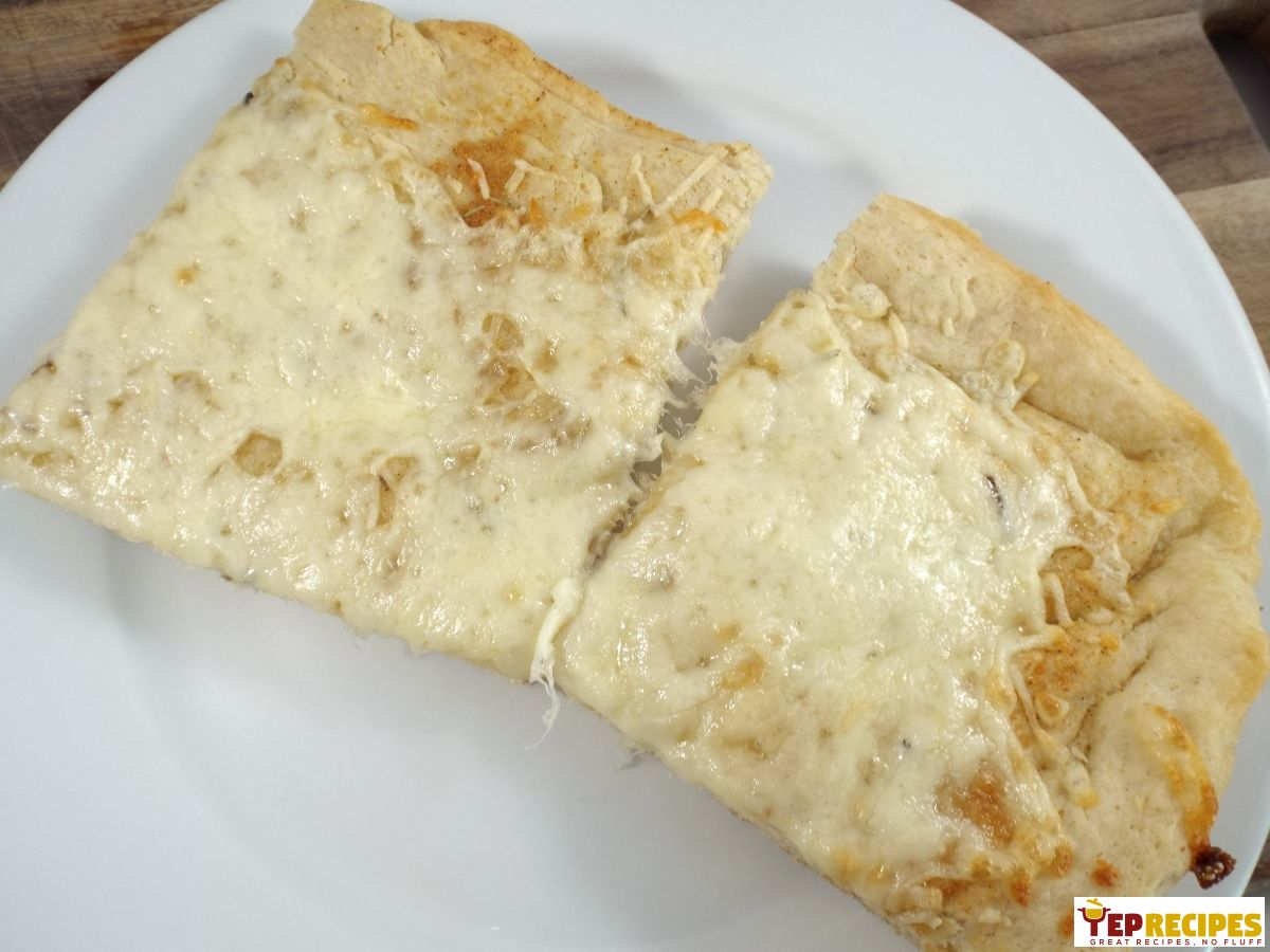 Cheesy Homemade Focaccia Bread Pizza Yeprecipes Com