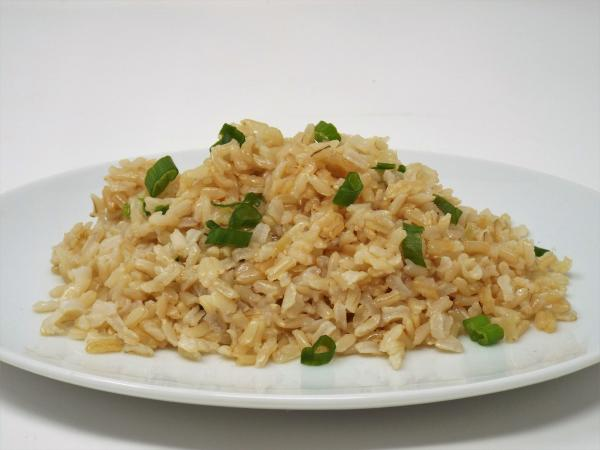 Garlic Sesame Brown Rice