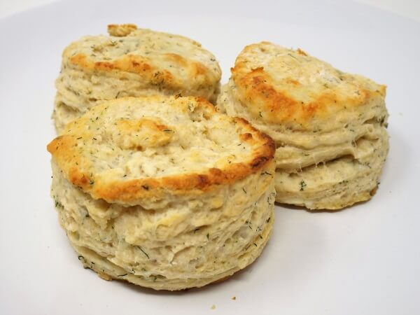 Dill and Cream Cheese Biscuits