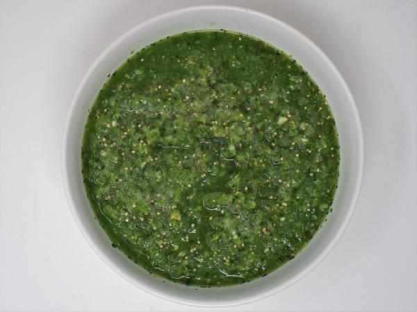 Fresh Tomatillo Salsa Verde