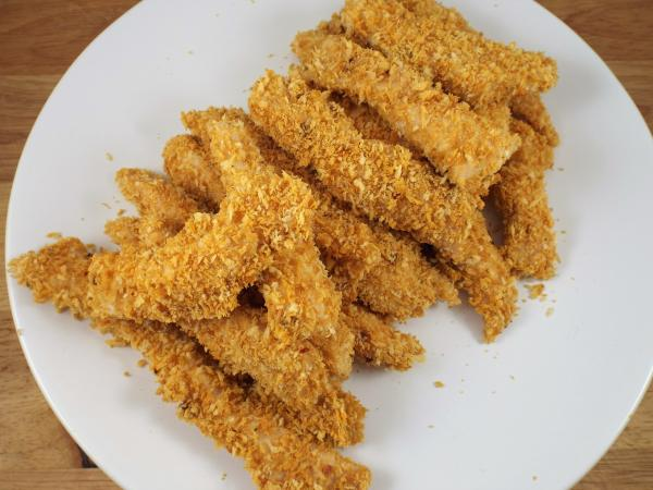 Spicy Oven Baked Chicken Strips