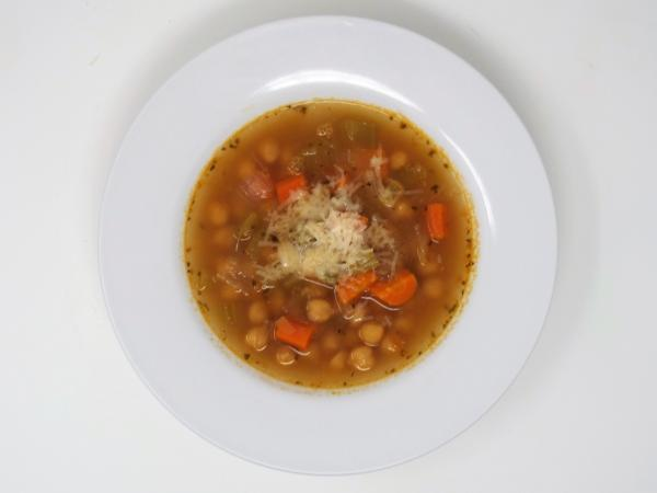 Sicilian Chickpea and Vegetable Soup