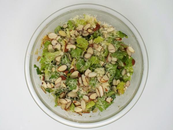 Almond Caesar Salad