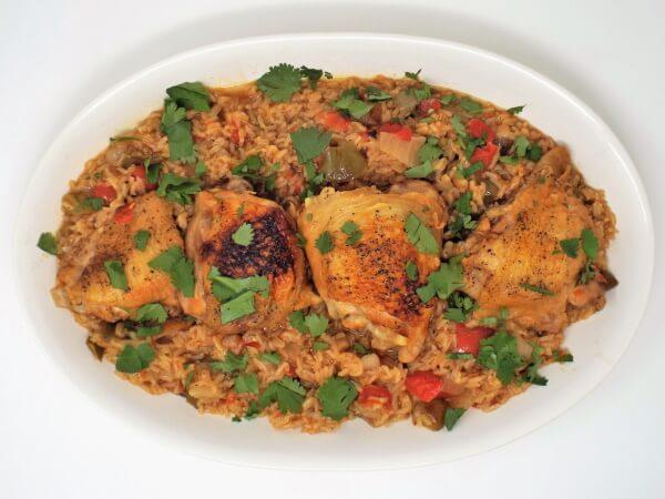 Arroz con Pollo (Latin Chicken and Rice)