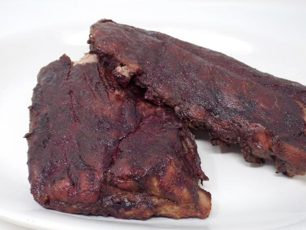 Blackberry and Jalapeno Glazed Baby Back Ribs