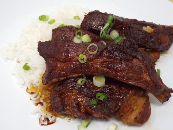 Japanese Style Braised Pork Ribs