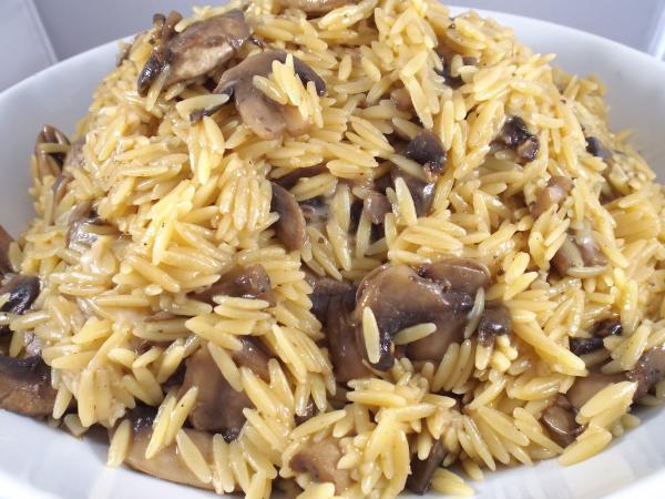 Mushroom & Garlic Orzo