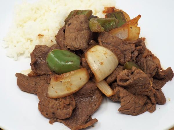 Sesame Beef Stir Fry